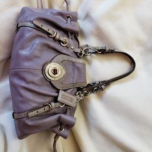 Coach Lilac Leather Bag